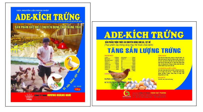 Dinh dưỡng gia súc ADE - KÍCH TRỨNG
