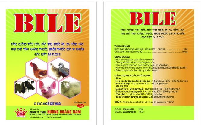 Dinh dưỡng gia súc BILE