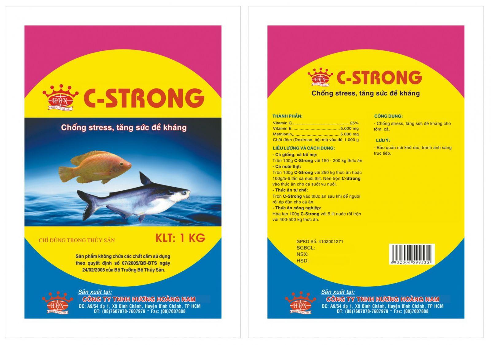 Dinh dưỡng thủy sản HHN - Cstrong