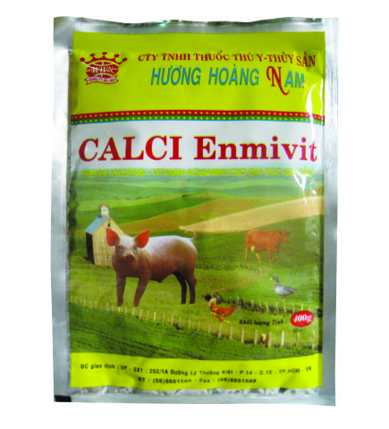 Dinh dưỡng gia súc CALCI ENMIVIT