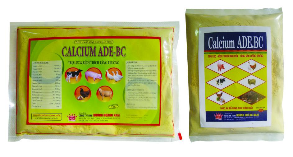 Dinh dưỡng gia súc CALCIUM ADE – BC