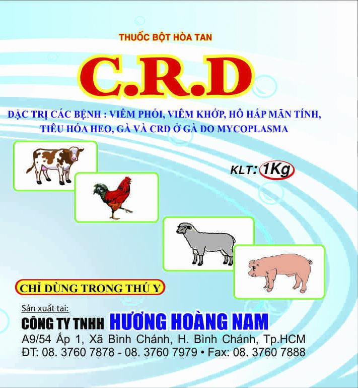 Thuốc thú y CRD