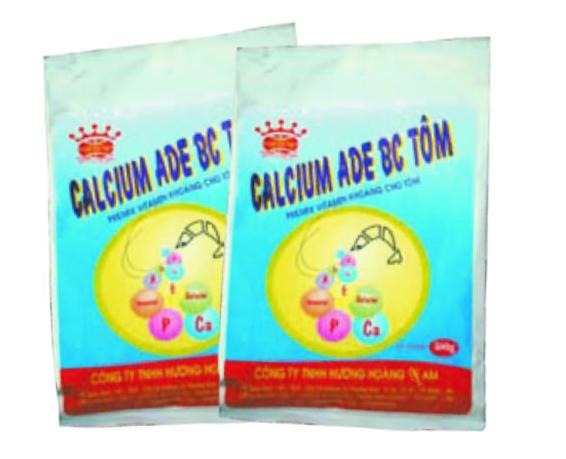 Thuốc dinh dưỡng thủy sản Calcium ADE BC TÔM