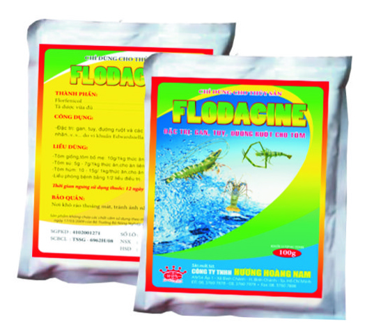 Thuốc thú y thủy sản Flodacine (bột)