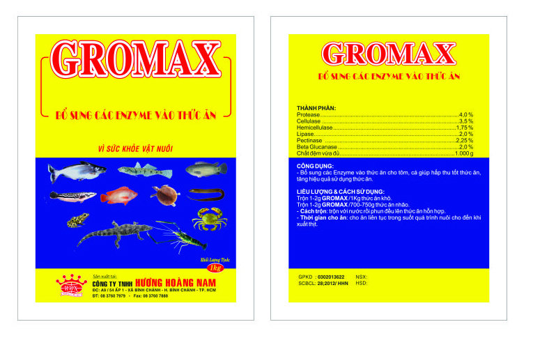 Dinh dưỡng gia súc GROMAX