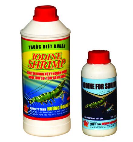 Hóa chất xử lý môi trường Iodine shrimp