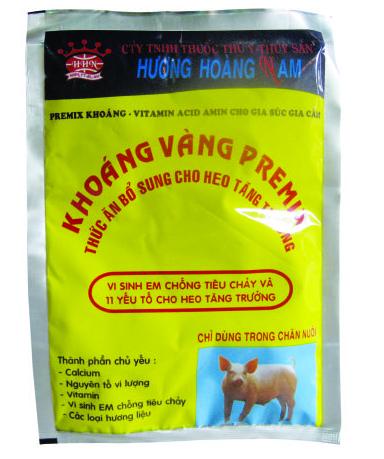 Dinh dưỡng gia súc KHOÁNG VÀNG PREMIX