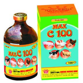 Thuốc thú y Max - C 100