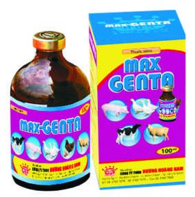 Thuốc thú y Max - Genta