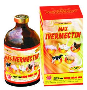 Thuốc thú y Max - Ivermectin