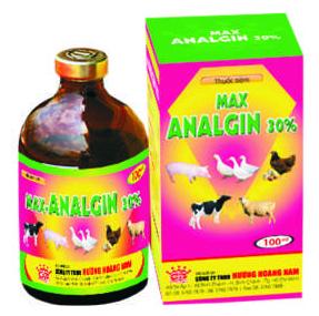 Thuốc thú y Max Analgin 30%