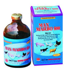 Thuốc thú y Max Marbo 500