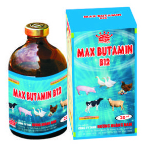 Thuốc thú y Max - Butamin B12