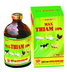 Thuốc thú y Max Thiam 10%