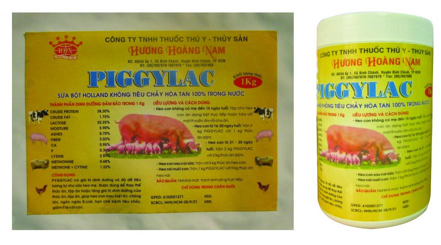 Dinh dưỡng gia súc PIGGYLAC