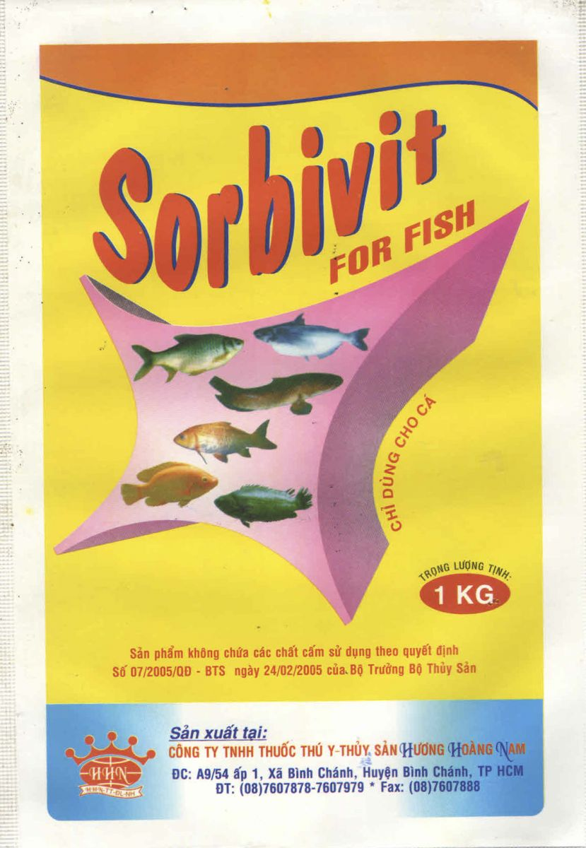 DINH DƯỠNG THỦY SẢN Sorbivit for fish