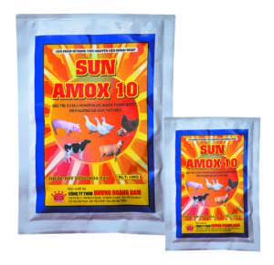 Thuốc thú y Sun Amox 10