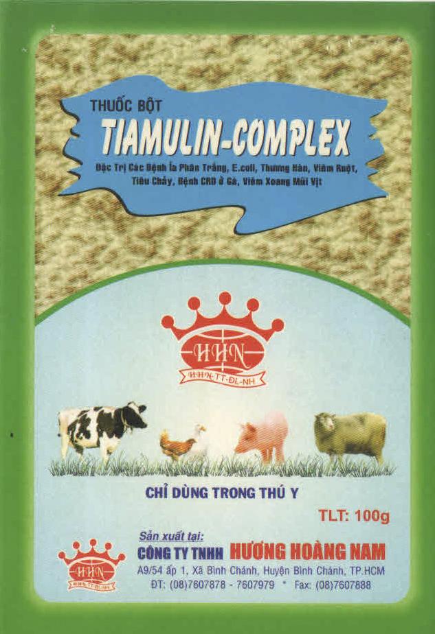 THUỐC THÚ Y Tiamulin complex