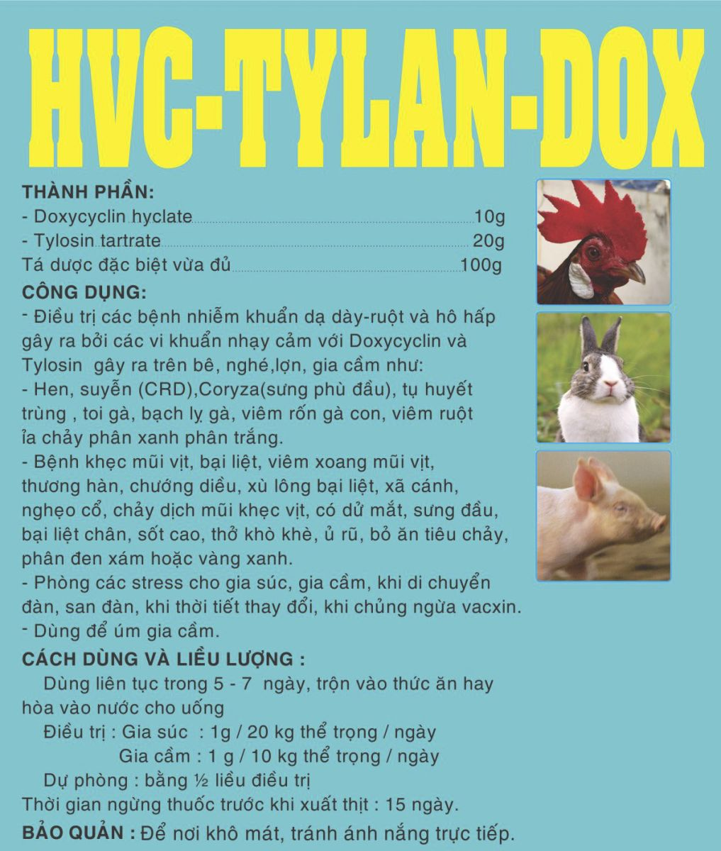 Thuốc thú y HCV - Tylandox