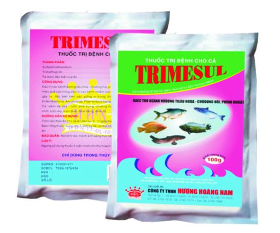 Thuốc thú y thủy sản Trimesul