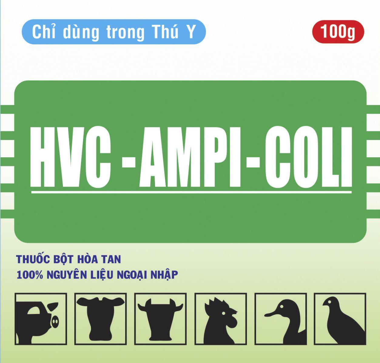 Thuốc thú y HCV - Ampicoli