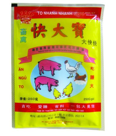 Dinh dưỡng gia súc TO NHANH NHANH