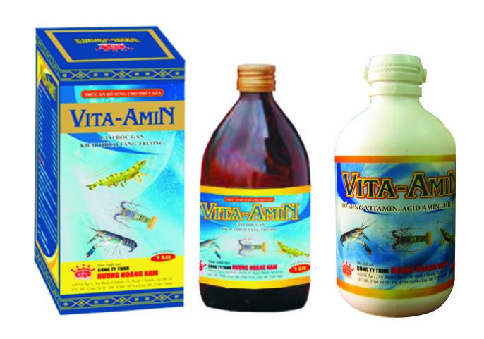 Dinh dưỡng thủy sản Vitamin