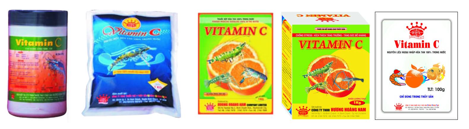 Thuốc dinh dưỡng thủy sản VITAMIN C